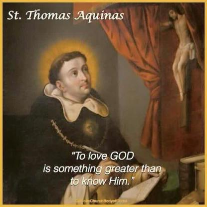JANUARY 28 - St. Thomas Aquinas