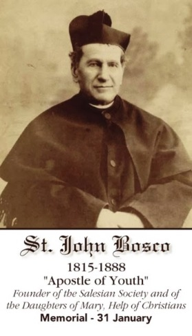 ... Wife & Mother: Keeping the Company of the Saints: St. John Bosco