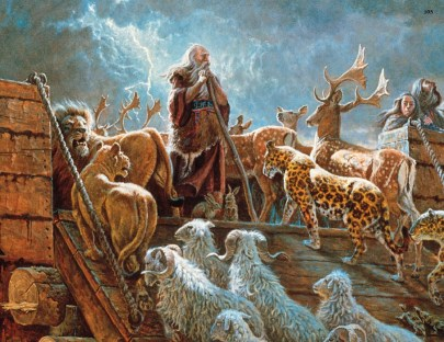 Philosophies of Men Mingled With Scripture: Noah's Ark