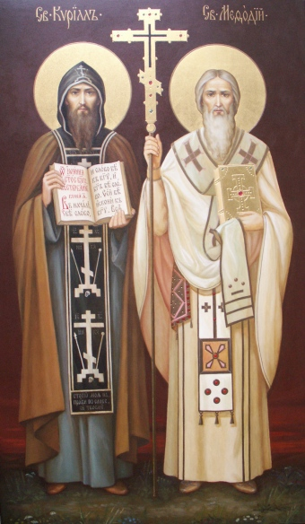 ... : AKATHIST Hymn to our fathers among the saints Cyril and Methodius