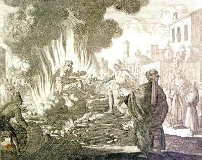 ICONOGRAPHIE CHRÉTIENNE: Saint POLYCARPE, évêque et martyr
