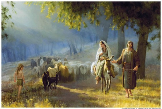 Joseph-Mary-Bethlehem