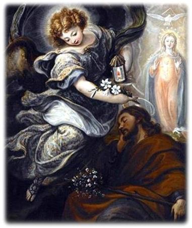The Dream of St. Joseph Francisco Rizzi 1665 Spain.jpg