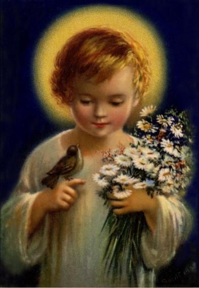Baby Jesus Holy name