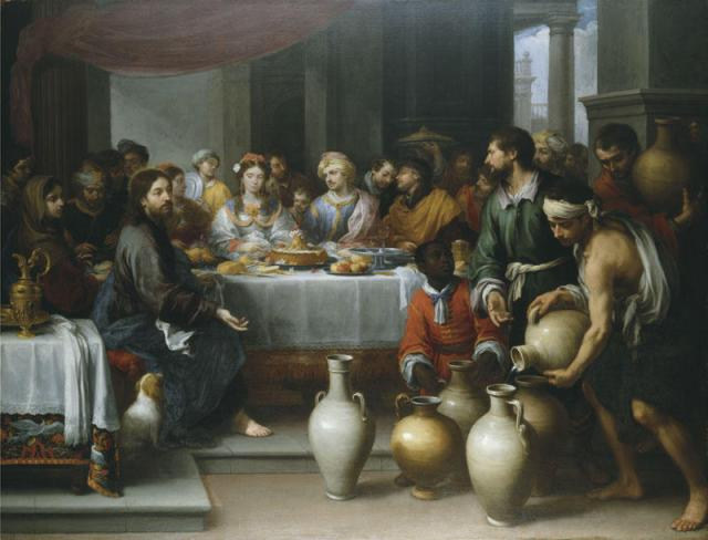 Bartolome-Esteban-Murillo-The-Marriage-Feast-at-Cana