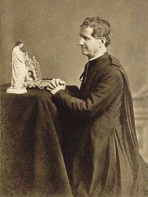st. john bosco kneeling