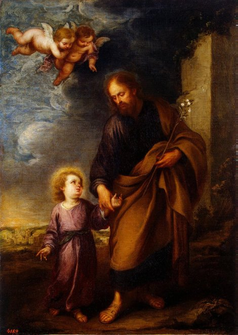st . joseph leading the Child Jesus.jpg