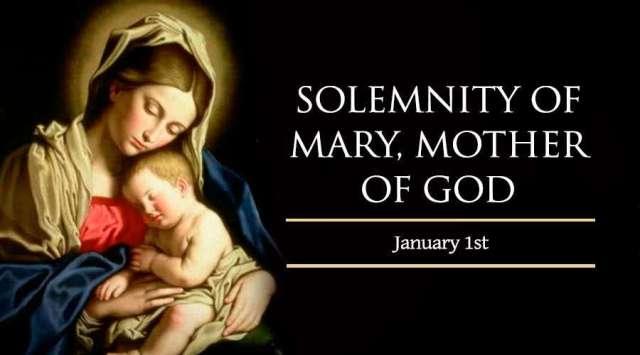 Jan. 1 - Solemnity of Mary, Mother of God new